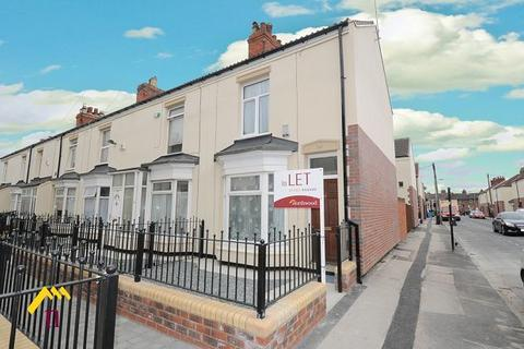 2 bedroom end of terrace house to rent - Ernests Avenue, Holland Street, Hull, HU9 2JP