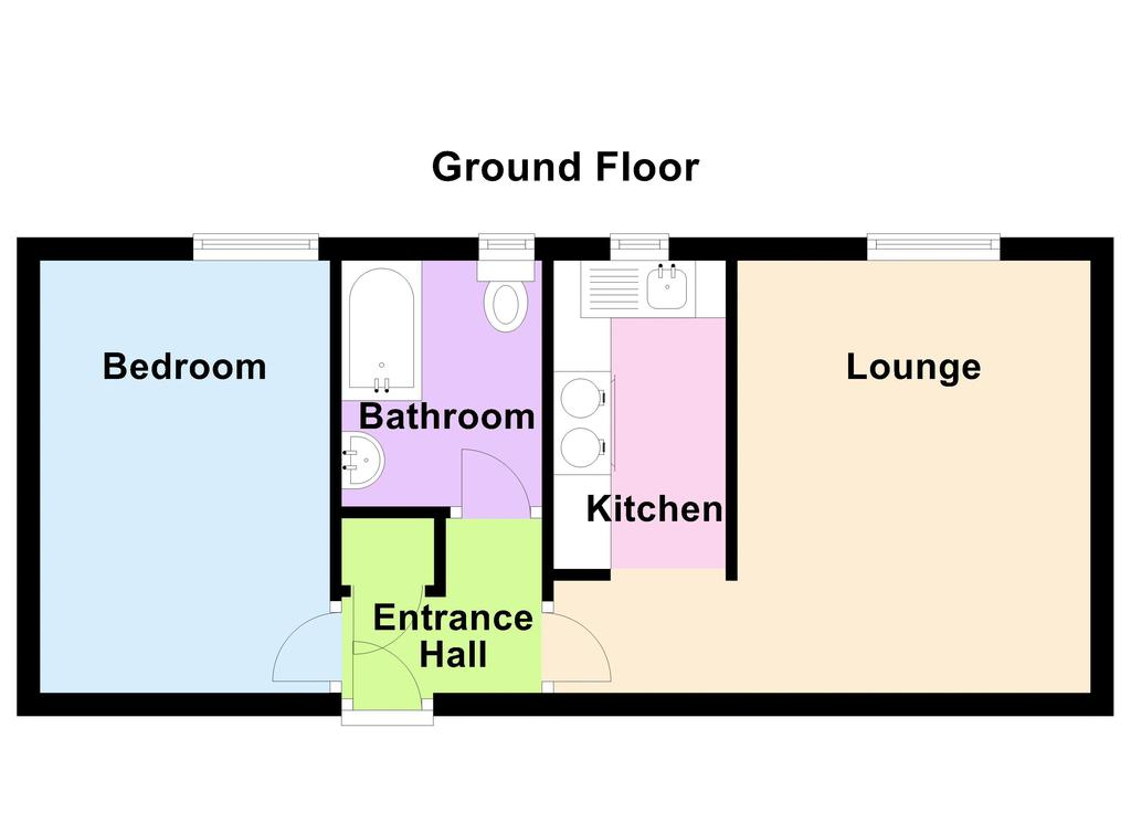Floorplan 1 of 2: 2 d