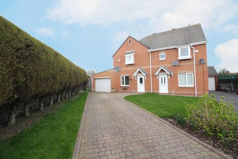 3 bedroom semi-detached house for sale - St. Albans View, Shiremoor, Newcastle Upon Tyne