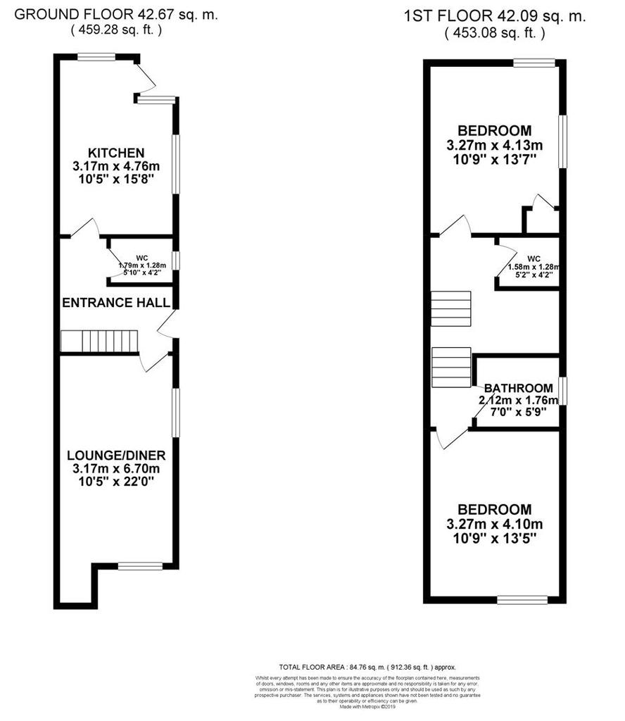 Floorplan: 13 ft bedroom lilliput road.jpg
