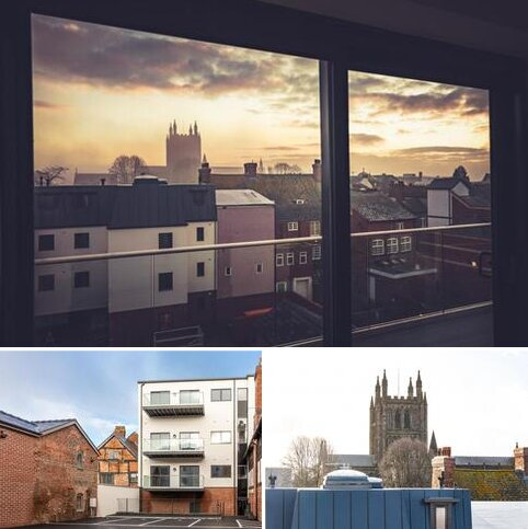 2 bedroom property for sale - Penthouse Plot 8 Alban House, High Town, Hereford, Herefordshire, HR1 2AB