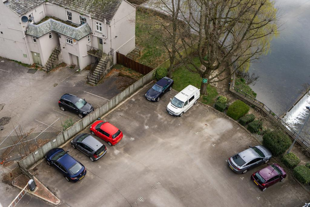 The car parking space