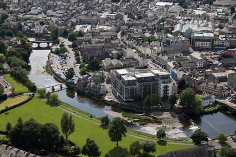 2 bedroom penthouse for sale - 502 Sand Aire House, Stramongate, Kendal, Cumbria LA9 4UA