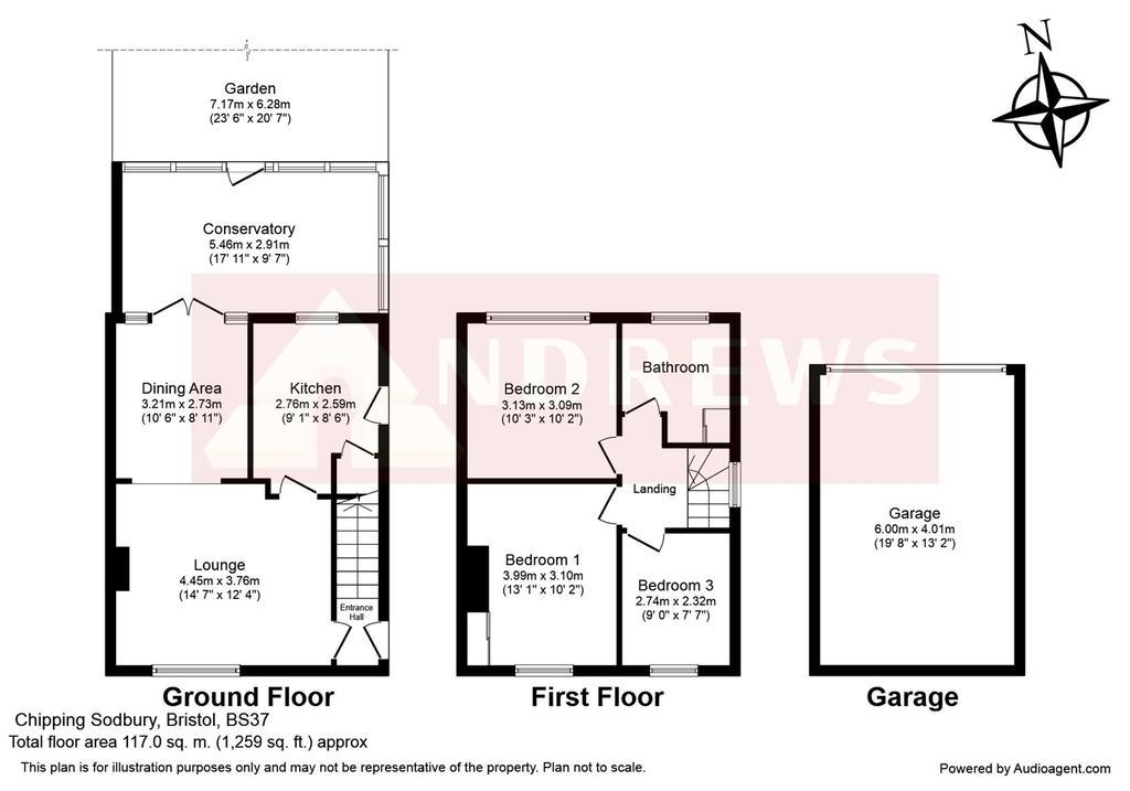 Floorplan: Merlin Way