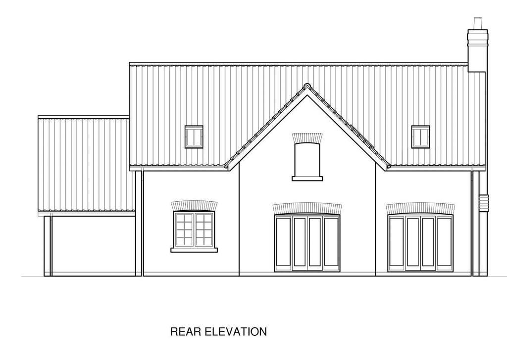 Plot 1 Rear Elevation
