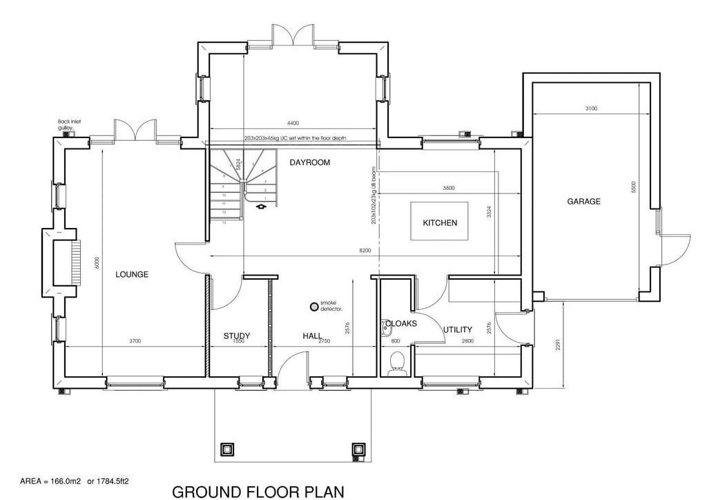 Plot 1 Ground Floor Floorplan