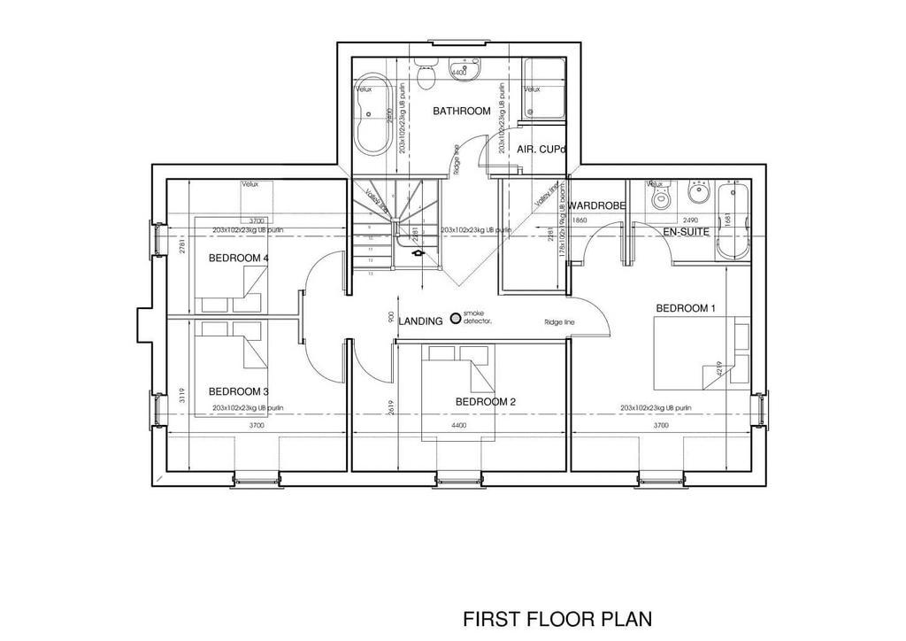 Plot 1 First Floor Floorplan