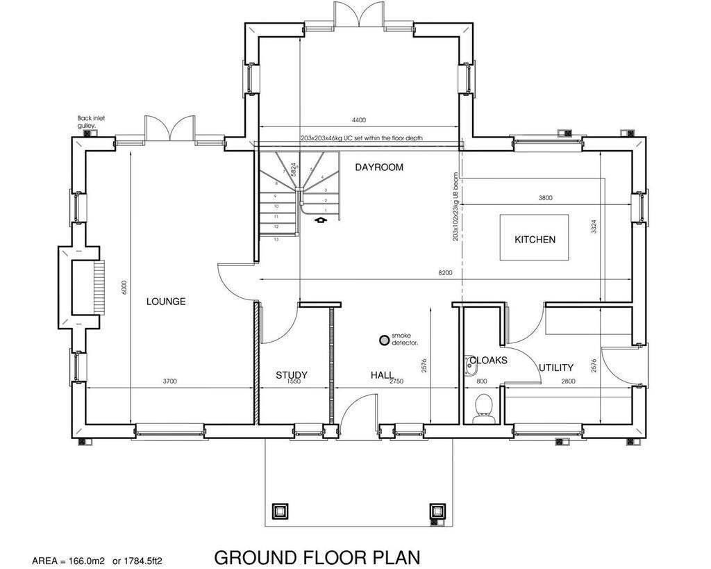 Plot 2 Ground Floor Floorplan