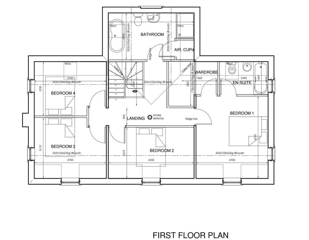 Plot 2 First Floor Floorplan