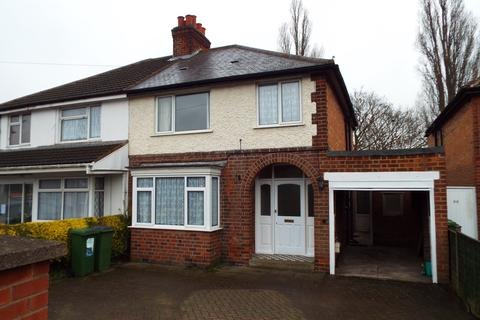 3 bedroom semi-detached house to rent - narborough road south, leicester LE3