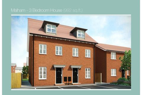 3 bedroom semi-detached house for sale - PLOT 64 MALHAM PHASE 3, Navigation Point, Cinder Lane, Castleford