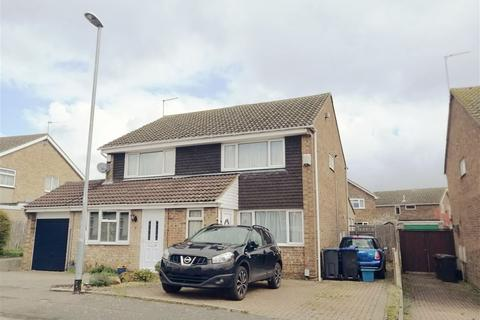 2 bedroom semi-detached house for sale - Lowick Court, Moulton, Northampton, Northamptonshire