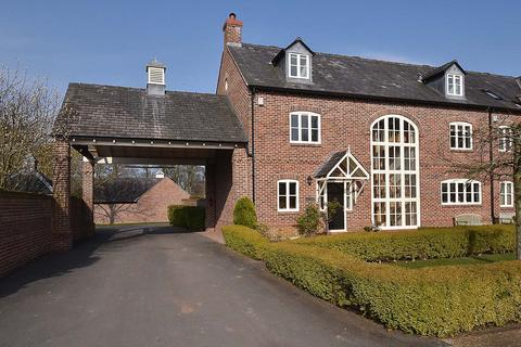 4 bedroom link detached house for sale - The Courtyard, Swettenham