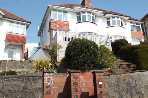 3 bedroom semi-detached house for sale - 34 Lon Gwynfryn, Sketty, Swansea SA2 0TR