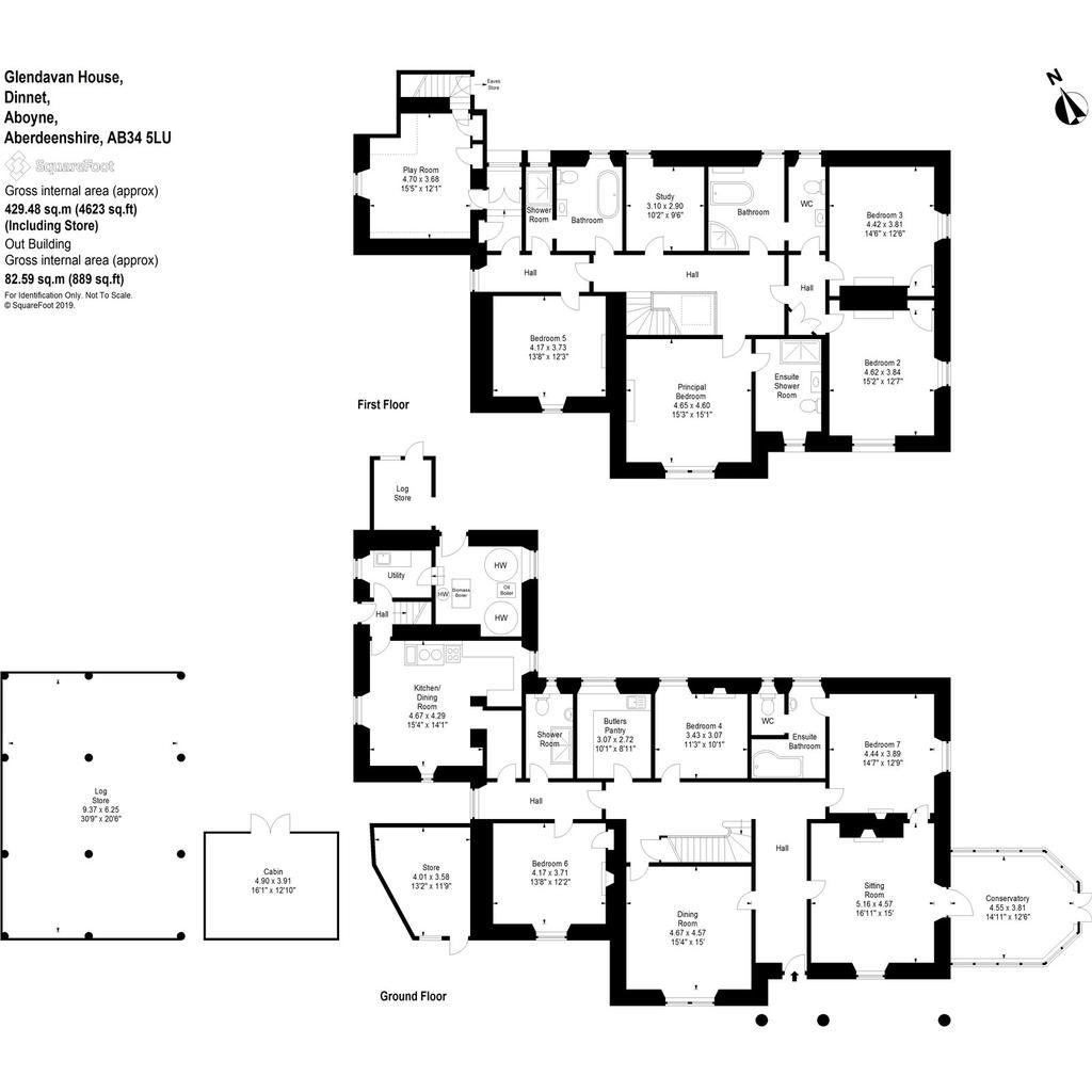 Floorplan: Glendavan House