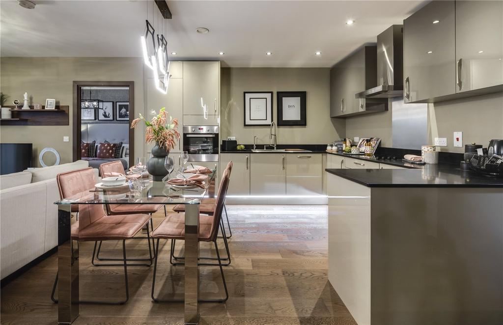 Kitchen/Living/Diner