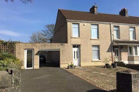 3 bedroom end of terrace house for sale - Llangyfelach Road, Tirdeunaw, Swansea