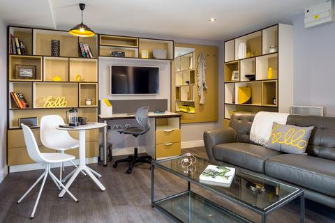 1 bedroom apartment to rent - Grande Apartment, Iconinc, Glassworks Cardigan Road, HydePark