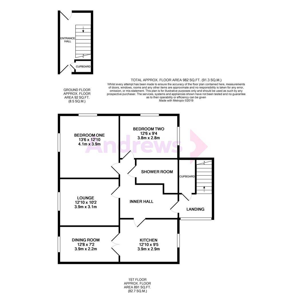 Floorplan: Metropix12314605