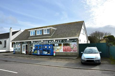 Residential development for sale - The Mullion Mini Market, Nansmellyon Road, Mullion, Helston, Cornwall