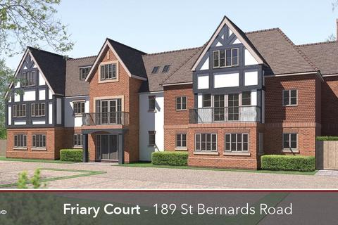 3 bedroom apartment for sale - Friary Court, St Bernards Road, Solihull, West Midlands, B92