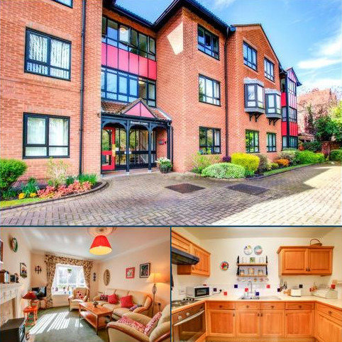 2 bedroom retirement property for sale - Russell Court, 3 Adderstone Crescent, NE2