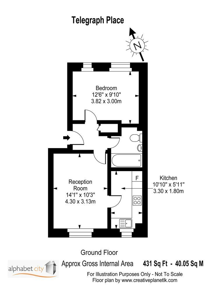 Floorplan: Telegraph