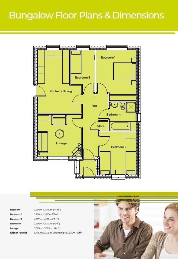 Floorplan: Bungalow Floorplan