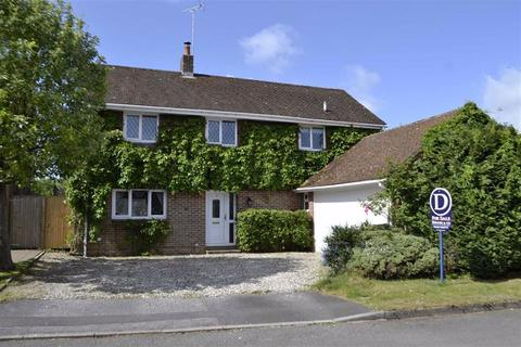 4 bedroom detached house for sale - Lipscomb Close, Hermitage, Berkshire, RG18