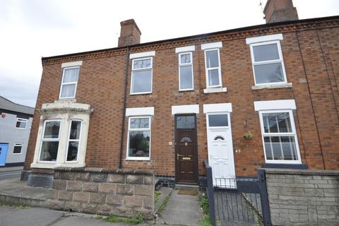 2 bedroom terraced house to rent - Chellaston Road, Derby