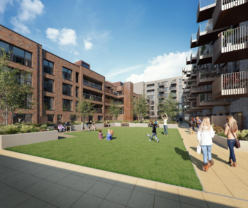 Legacy Wharf, Stratford, E15 1 Bed Apartment