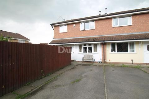 2 bedroom semi-detached house for sale - Caradoc Close, St Mellons, Cardiff