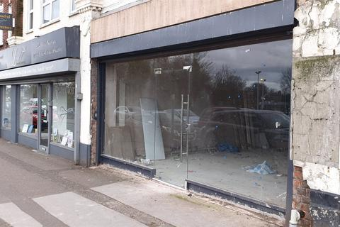 Retail property (high street) to rent - Chester Road, Sutton Coldfield, West Midlands, B73