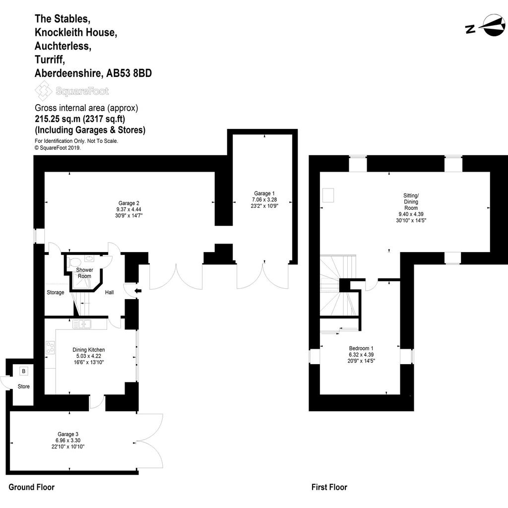Floorplan 2 of 3: The Stables