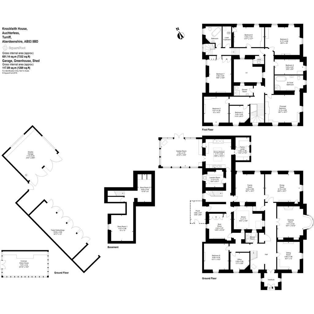 Floorplan 1 of 3: Knockleith House