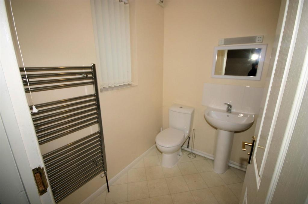 View of Downstairs Bathroom