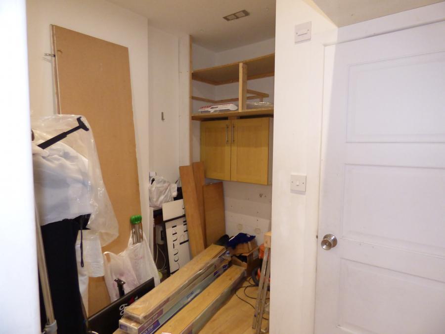 Rear office / storage area