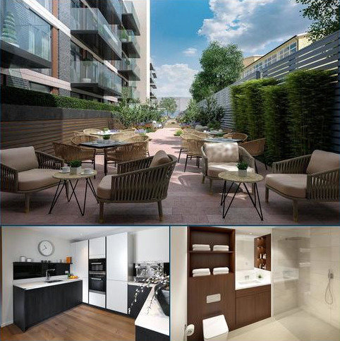 1 bedroom flat for sale - Nightingale Place, Nightingale Lane, London, SW4