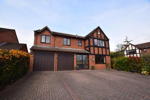 4 bedroom detached house for sale - Barbourne Close, Solihull, B91 3TL
