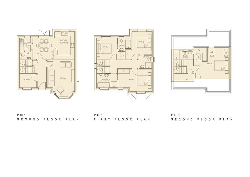 Floorplan 1 of 2: Floor Plan Plot 1