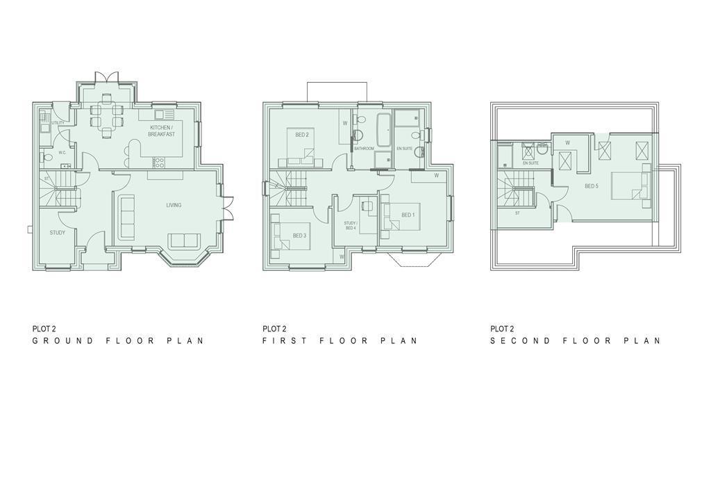Floorplan 2 of 2: Floor Plan Plot 2