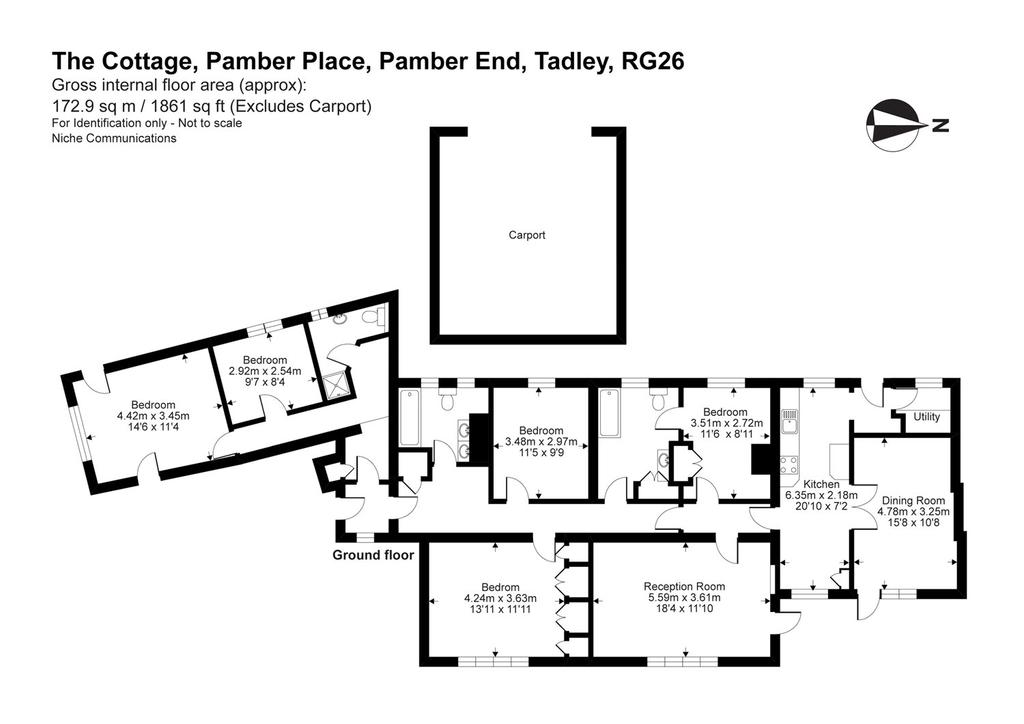 Floorplan: 5 Bed House To Rent