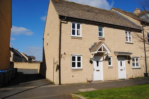 3 bedroom end of terrace house to rent - Elmhurst Way, Shilton Park, Carterton, Oxon, OX18 1GQ