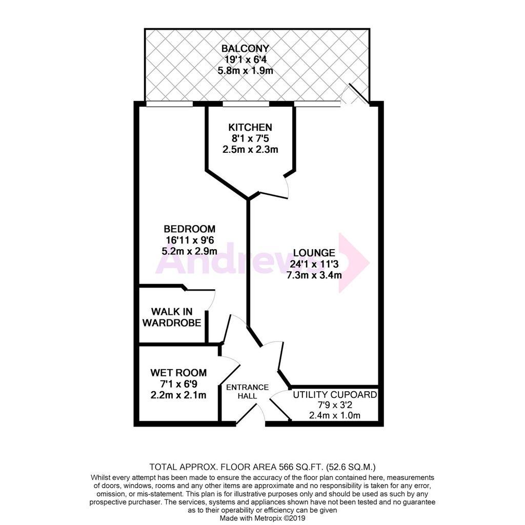 Floorplan: Metropix12333557