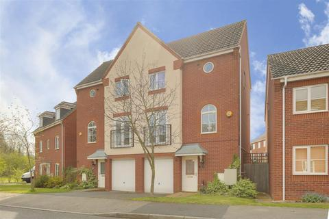 3 bedroom townhouse for sale - Primrose Gardens, Hucknall, Nottinghamshire, NG15 7EW
