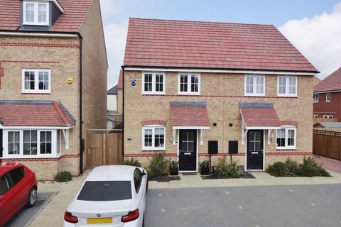 2 bedroom semi-detached house for sale - Prestoe Close, Priors Hall, Corby