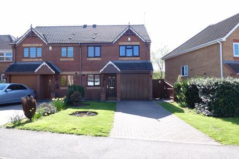 3 bedroom semi-detached house for sale - Harcourt Way, Hunsbury Hill, Northampton