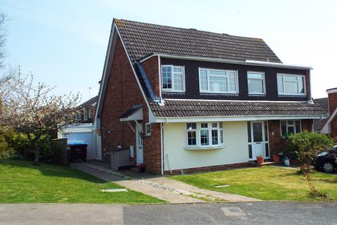 3 bedroom semi-detached house for sale - Dando Close, Wollaston, Northamptonshire, NN297QB