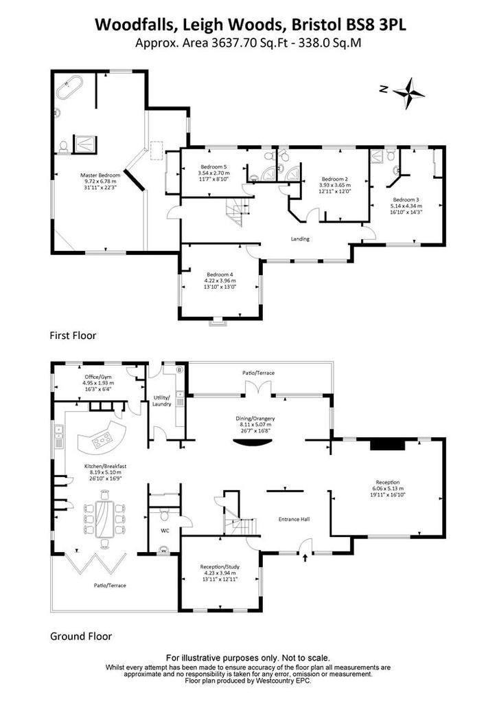 Floorplan: Latest floorplan   Woodfalls Leigh Woods Bristol 0