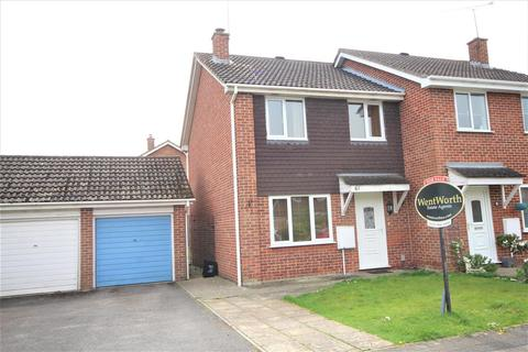 3 bedroom semi-detached house for sale - Ravensbourne Drive, Woodley, Reading